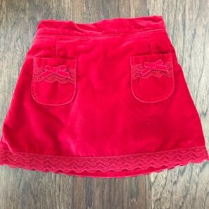 Velvet Holiday Skirt